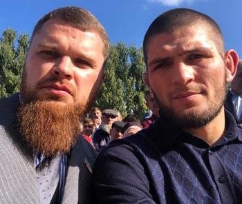 В Астрахань приедет боец Хабиб Нурмагомедов