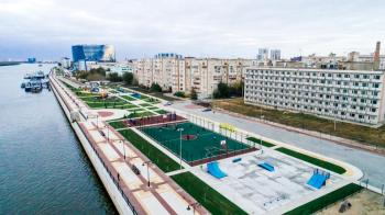 В Астрахани открыли новую набережную