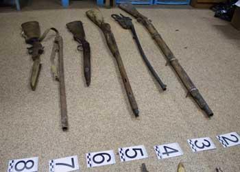 У жителя Астрахани изъято свыше 1000 единиц оружия, боеприпасов, орденов, медалей и предметов старины