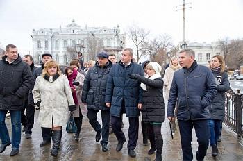 Радик Харисов и Сергей Морозов обновят Астрахань