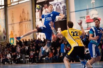 Гандболисты астраханского «Динамо» одержали победу над «СГАУ-Саратов»
