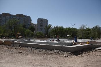 Парк «Аркадия»: фан-зона для болельщиков будет, но фонтан достроить не успеют
