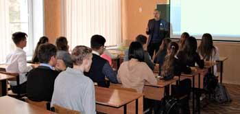 В Астрахани открыт первый медицинский класс