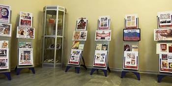 В Астрахани работает выставка политических плакатов