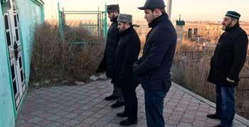 Первый заместитель Муфтия Дагестана Абдулла Аджимоллаев посетил Астрахань