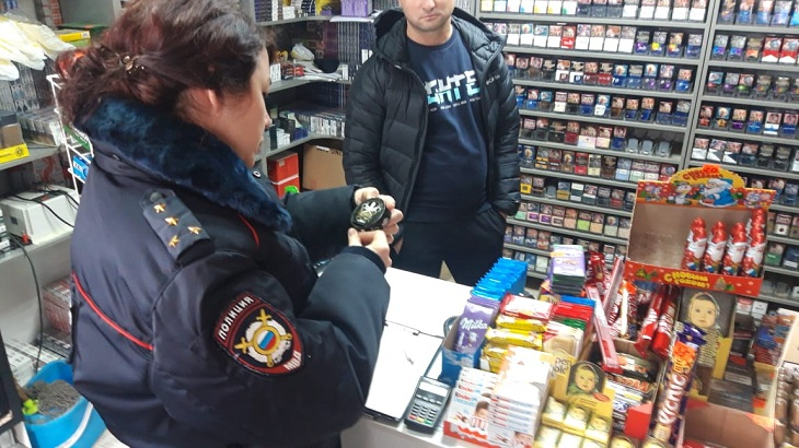 Администрация города продолжает рейды по незаконной продаже табачной продукции
