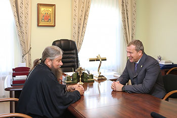 Сергей Морозов надеется, что православных храмов в Астрахани будет больше