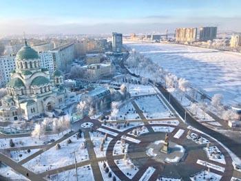 В небе над Астраханью слышен странный гул