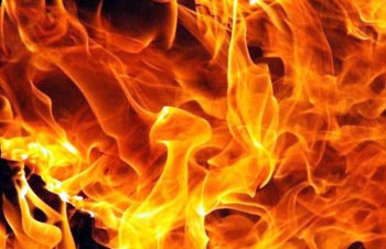 С утра в Астрахани горели дома