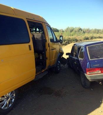Юный водитель устроил по Астраханью ДТП с пятью пострадавшими
