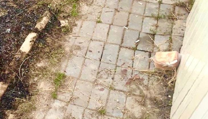 В Астрахани заживо сожгли человека