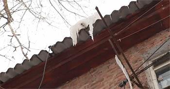 Астраханцы покинули свои квартиры, чтобы не замерзнуть