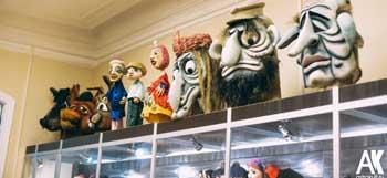 В Астраханском театре кукол состоялось торжественное открытие музея