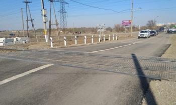В Ахтубинске на железной дороге капитально отремонтированы переезд и пешеходный переход