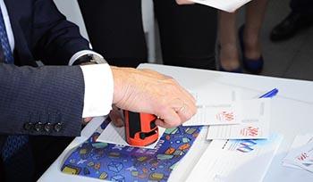 Спецгашение маркированного конверта, посвященного 300-летию Астраханской губернии. ВИДЕО