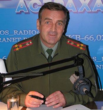 Астраханский экс-облвоенком Першин стал членом облизбиркома