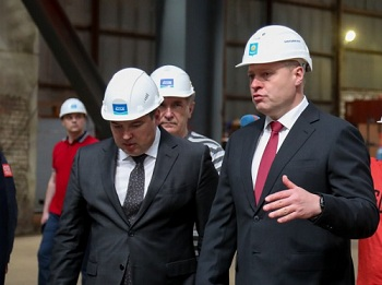 Игорь Бабушкин посетил завод «Лотос»