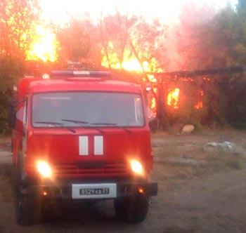 В День Государственного флага в Ахтубинском районе сгорела больница