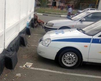 Астраханцы уличили гаишников в загрязнении