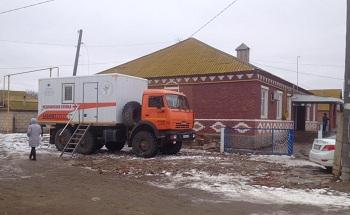 Жители отдаленных сел Володарского района проходят обследования в «поликлиниках на колесах»