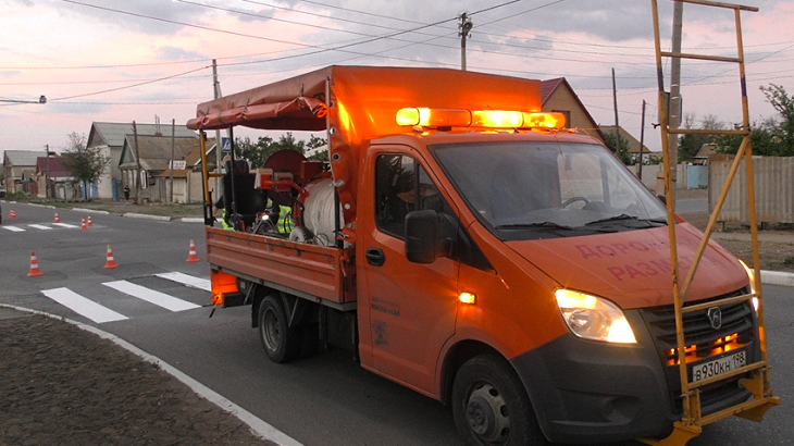 Новые дорожные разметки появятся во всех районах Астрахани