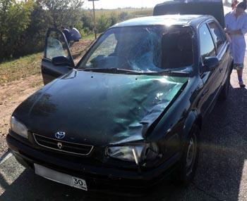 Водитель и пешеход погибли на астраханских дорогах
