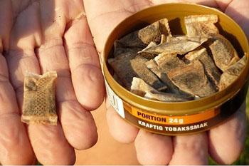 Житель Чечни привёз в Астрахань немаркированный жевательный табак и попался