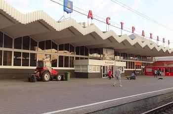 На астраханском вокзале пройдёт выставка тепловозов и паровозов