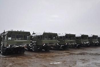 В Астрахань по тревоге переброшены ракетные комплексы