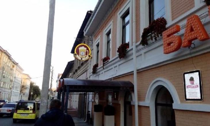 В Астрахани горел кафе-бар Beer House