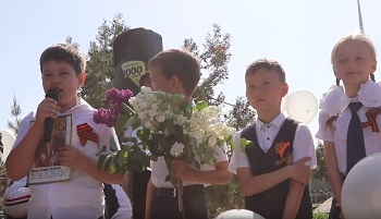 Ещё 9 мая. Забузанские дети читают стихи