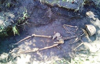 Родственники найденного под Брянском астраханского солдата ВОВ нашлись