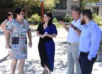 Глава города проверила степень готовности школ к новому учебному году