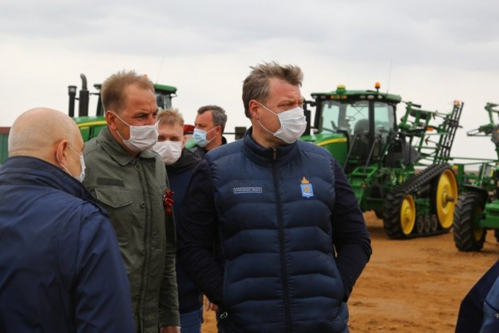Работа астраханских фермеров в условиях пандемии коронавируса