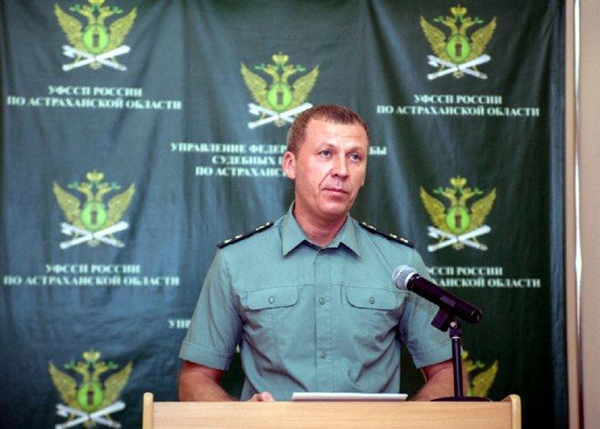 Бывший главный судебный пристав Астраханской области отправится в колонию