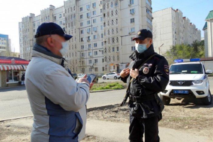 Режим карантина в регионе нарушают не только астраханцы