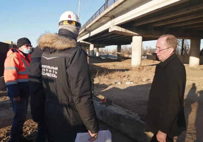 Мосты через реку Царев на контроле у депутатов городской думы