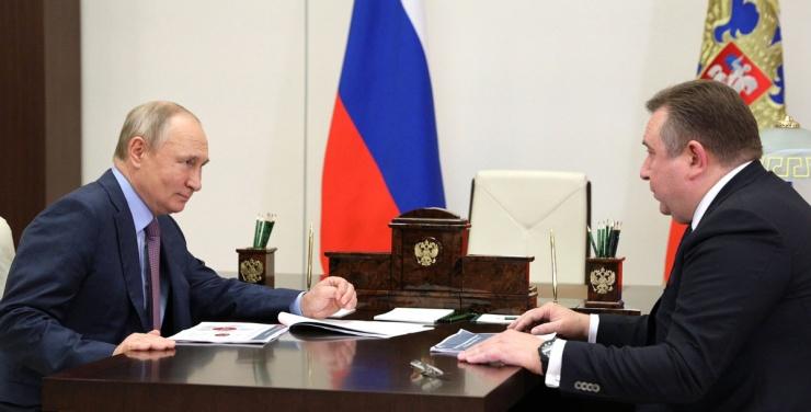 Рахманов – Путину: морской путь из Астрахани до Хельсинки займет неделю