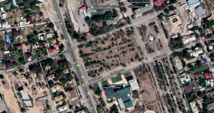 Названа стоимость благоустройства парка в Трусовском районе Астрахани