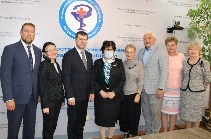 Астрахань посетили представители ВОЗ
