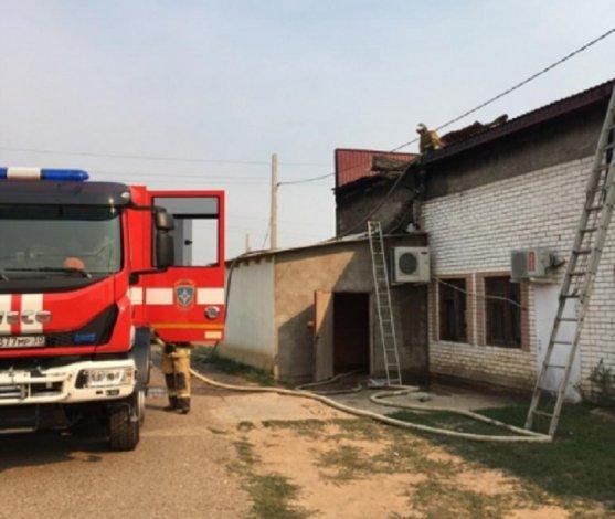 В Астраханской области горела почта
