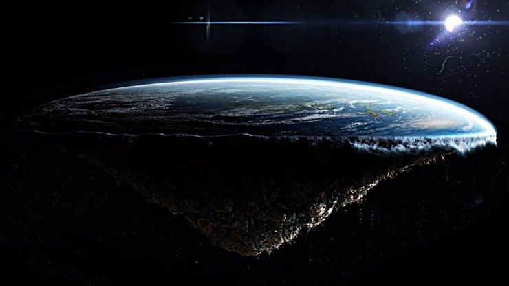 Астраханец попытался доказать теорию плоской Земли