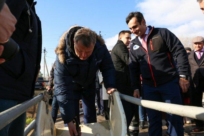 Астраханского губернатора впечатлила работа БИОСа