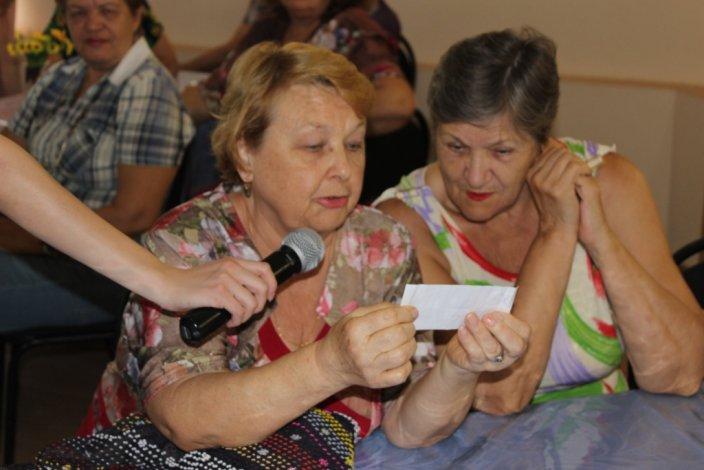 Интеллектуальный досуг астраханских пенсионеров