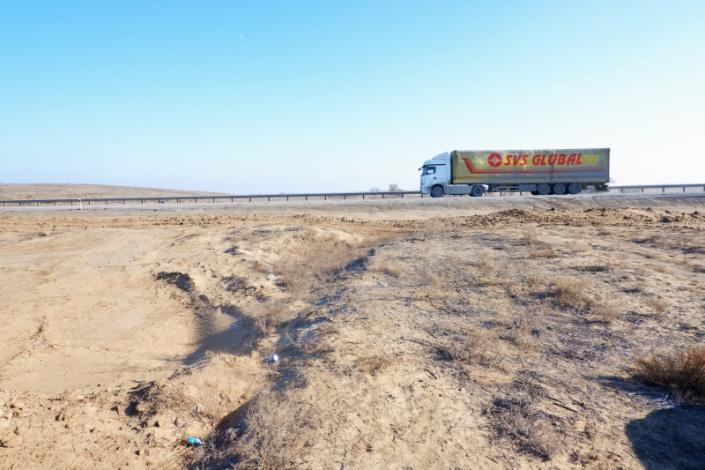 При строительстве федеральной трассы астраханское село отрезали от остального мира
