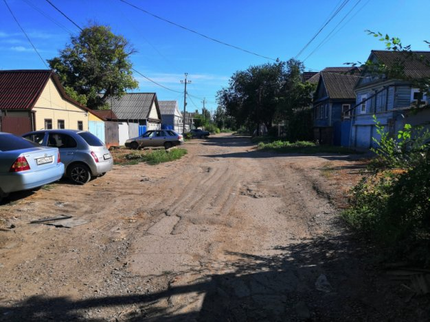 Власти Астрахани обратили внимание на улицу после вмешательства общественников