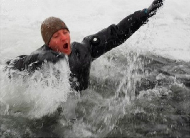 В Астрахани на Волге произошла трагедия