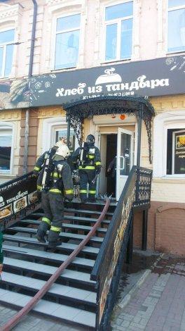 В Астрахани сгорел «Хлеб из тандыра»
