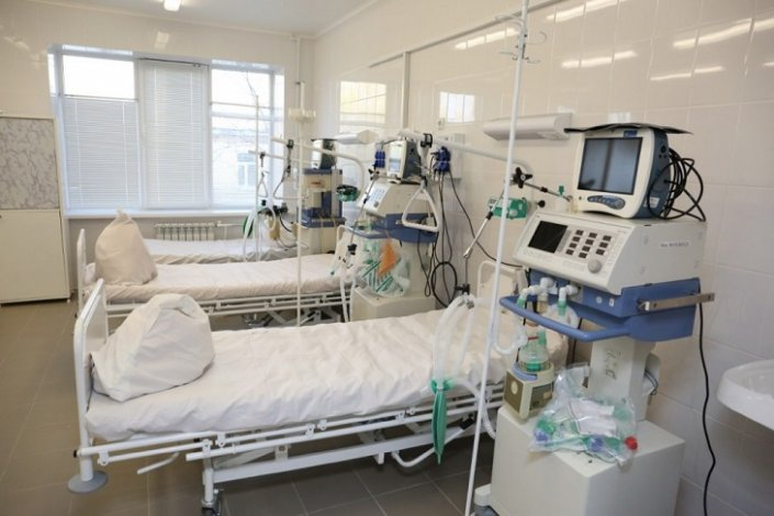В Астрахани открыт новый госпиталь для больных COVID-19