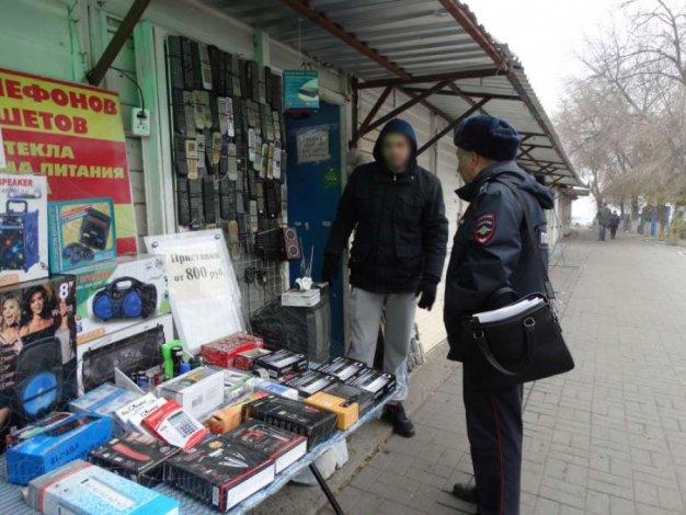 На Кировском рынке в Астрахани теперь порядок